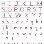 Manuscript+Handwriting+Practice | Homeschool Handwriting   Handwriting Without Tears Worksheets Free Printable