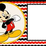 Mickey Mouse 1St Birthday | Desserts Cookies | Mickey Mouse   Free Printable Mickey Mouse Invitations