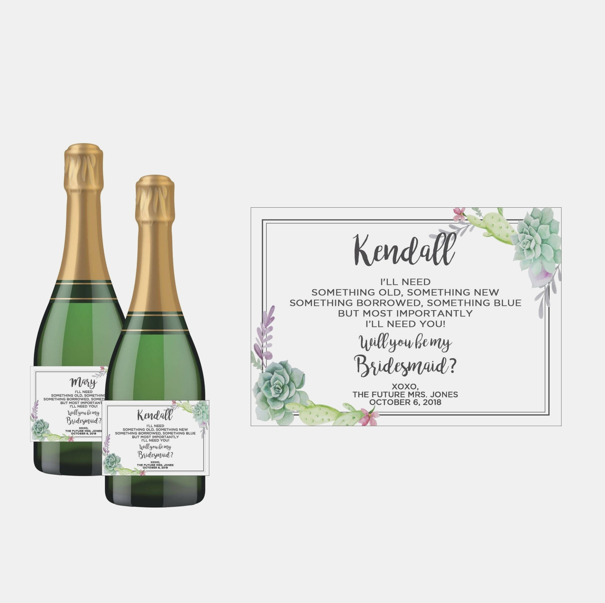 Mini Champagne Bottle Labels Template Free For You Small Wine Bottle - Free Printable Mini Champagne Bottle Labels