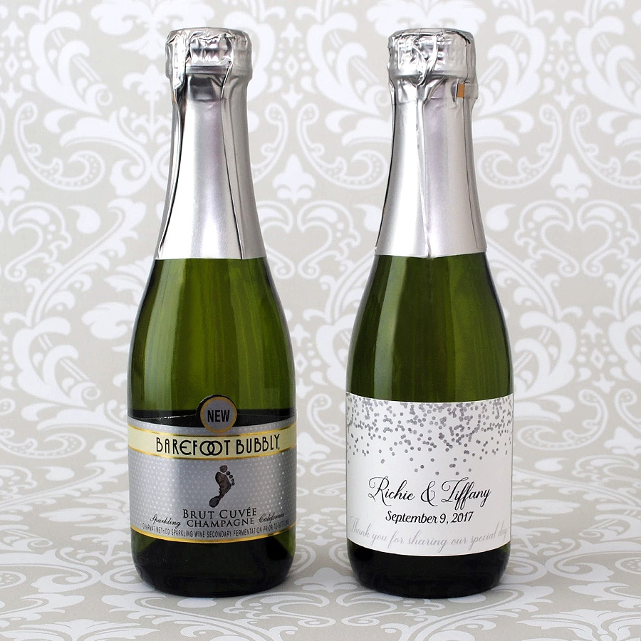 Mini Champagne Labels: A Guide To Choosing The Right Label Size - Free Printable Mini Champagne Bottle Labels