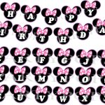 Minnie Mouse Bow   Free Download Best Minnie Mouse Bow On Clipartmag   Free Printable Minnie Mouse Birthday Banner