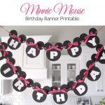 Minnie Mouse Free Printables   Sugar Fresh: Lily's Minnie Mouse   Free Printable Minnie Mouse Birthday Banner