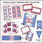 Minute To Win It Party Decorations – Unique Birthday Party Ideas And   Free Printable Minute To Win It Invitations