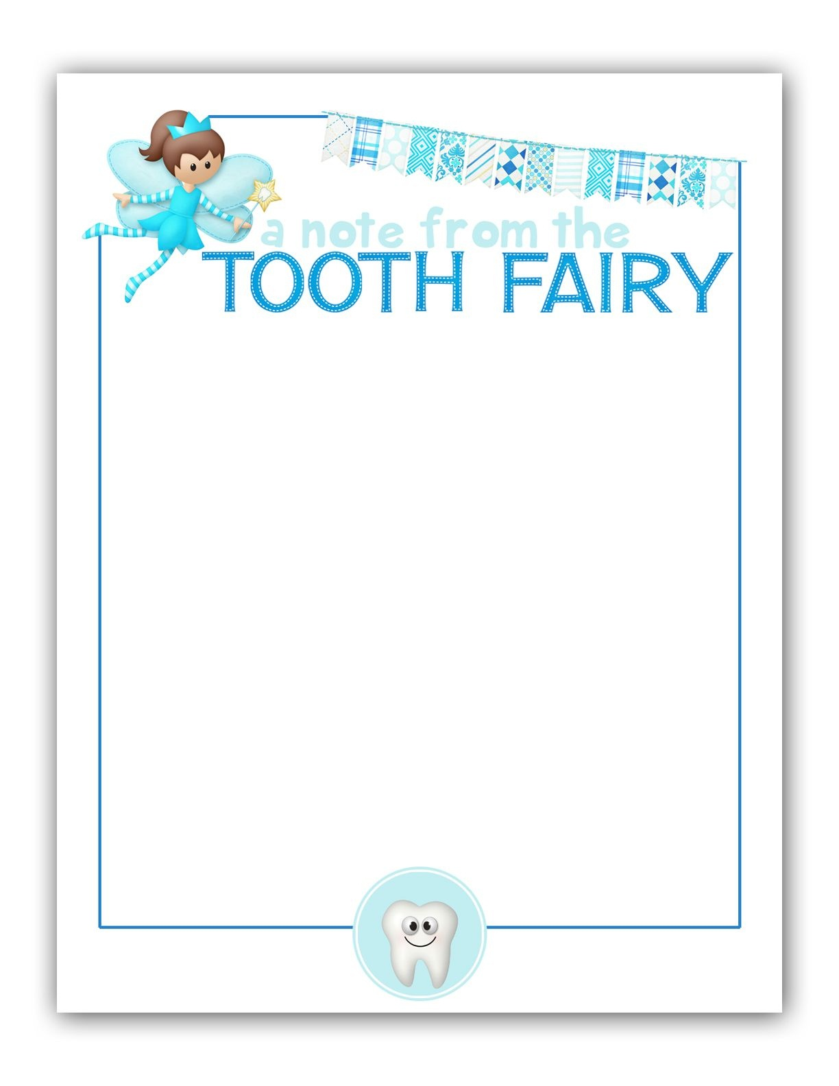 M K Designs Blog: Tooth Fairy Stationary - Free Printable   Tooth - Tooth Fairy Stationery Free Printable