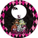 Monster High Halloween Special Free Printable Kit.   Oh My Fiesta   Free Printable Monster High Stickers