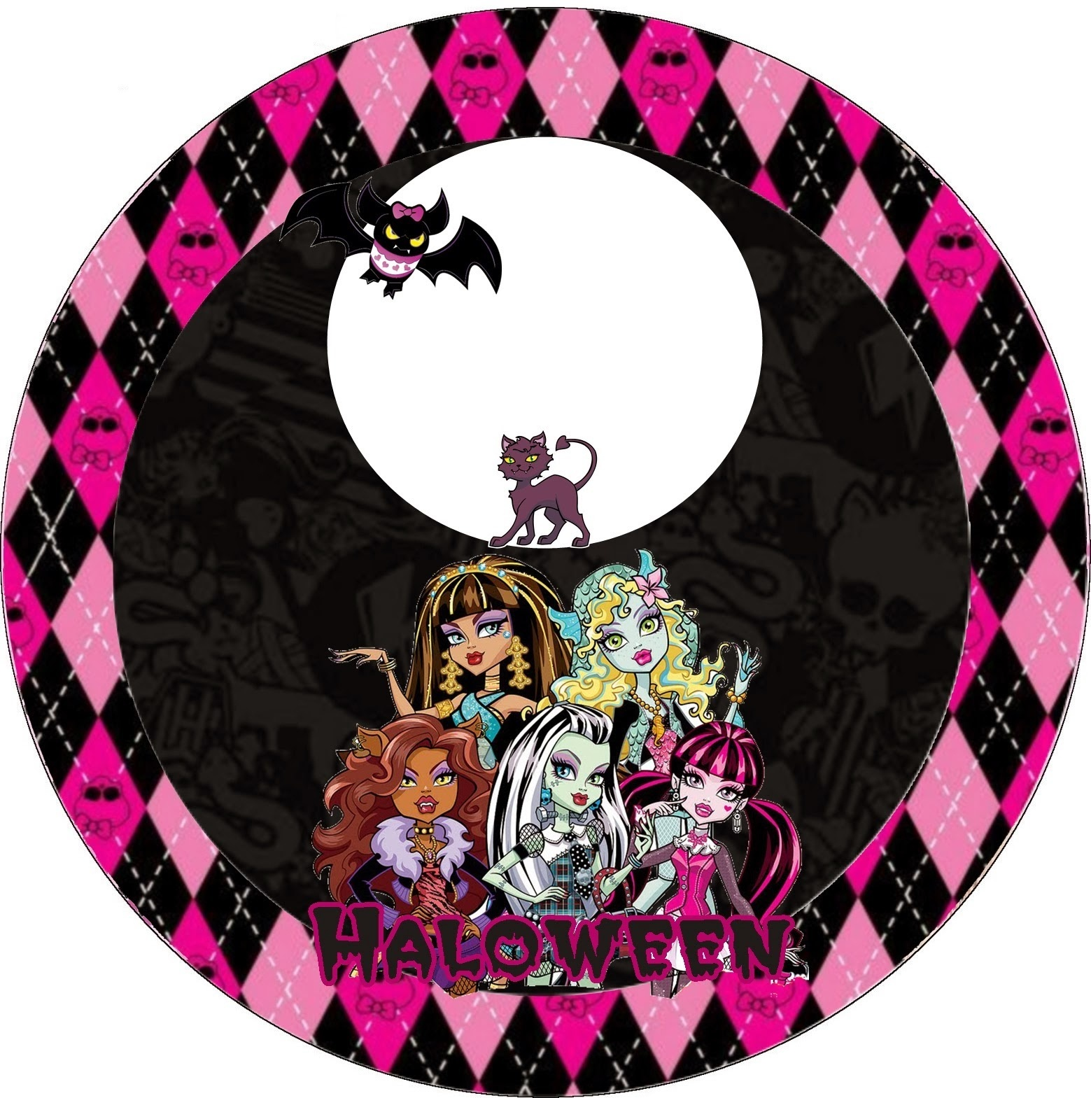Monster High Halloween Special Free Printable Kit. - Oh My Fiesta - Free Printable Monster High Stickers