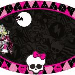 Monster High Printable Templates | Free Printable Toppers Stickers   Free Printable Monster High Stickers