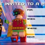 More Lego Batman Party Invitations | Drew's Birthday | Lego Batman   Lego Batman Party Invitations Free Printable