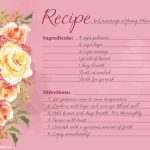 Mother's Day Recipe Poem Archives   Blue Mountain Blog   Free Printable Mothers Day Cards Blue Mountain