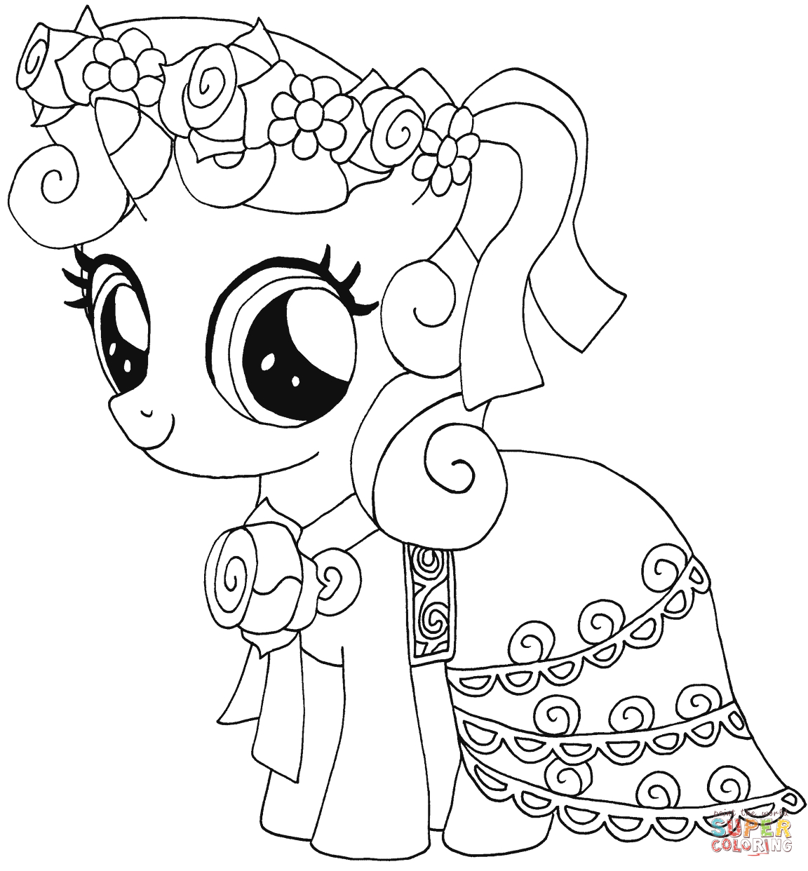 My Little Pony Coloring Pages | Free Coloring Pages - Free Printable Coloring Pages Of My Little Pony