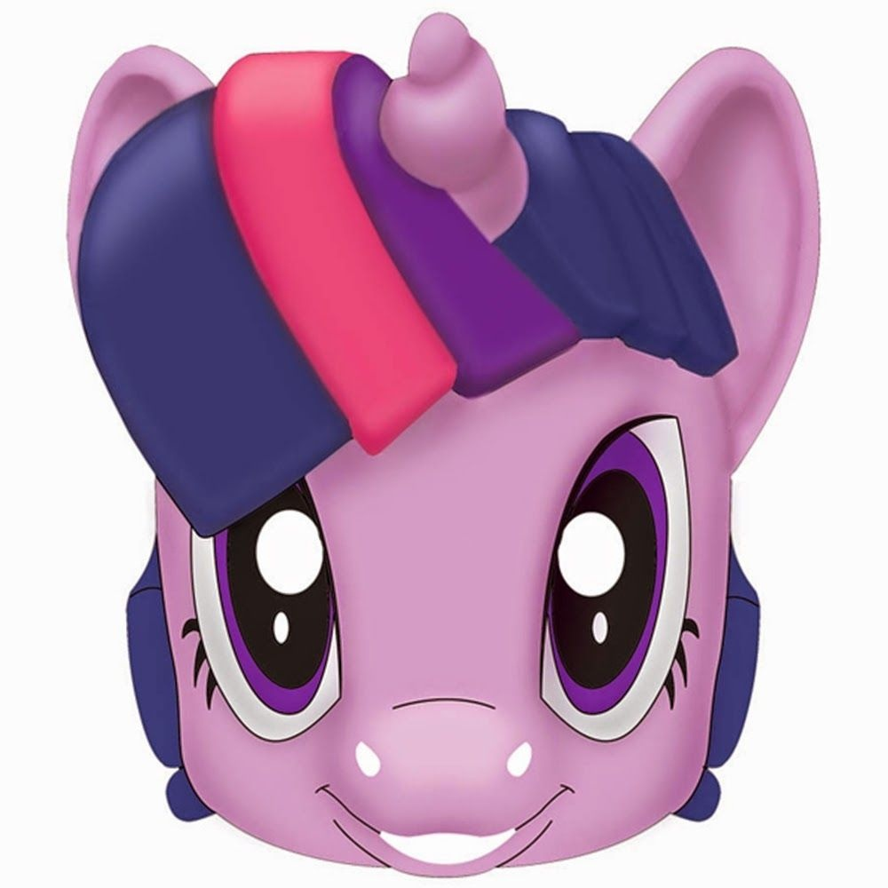 My Little Pony Free Printable Masks. - Possible For Gift Bags - Free My Little Pony Printable Masks