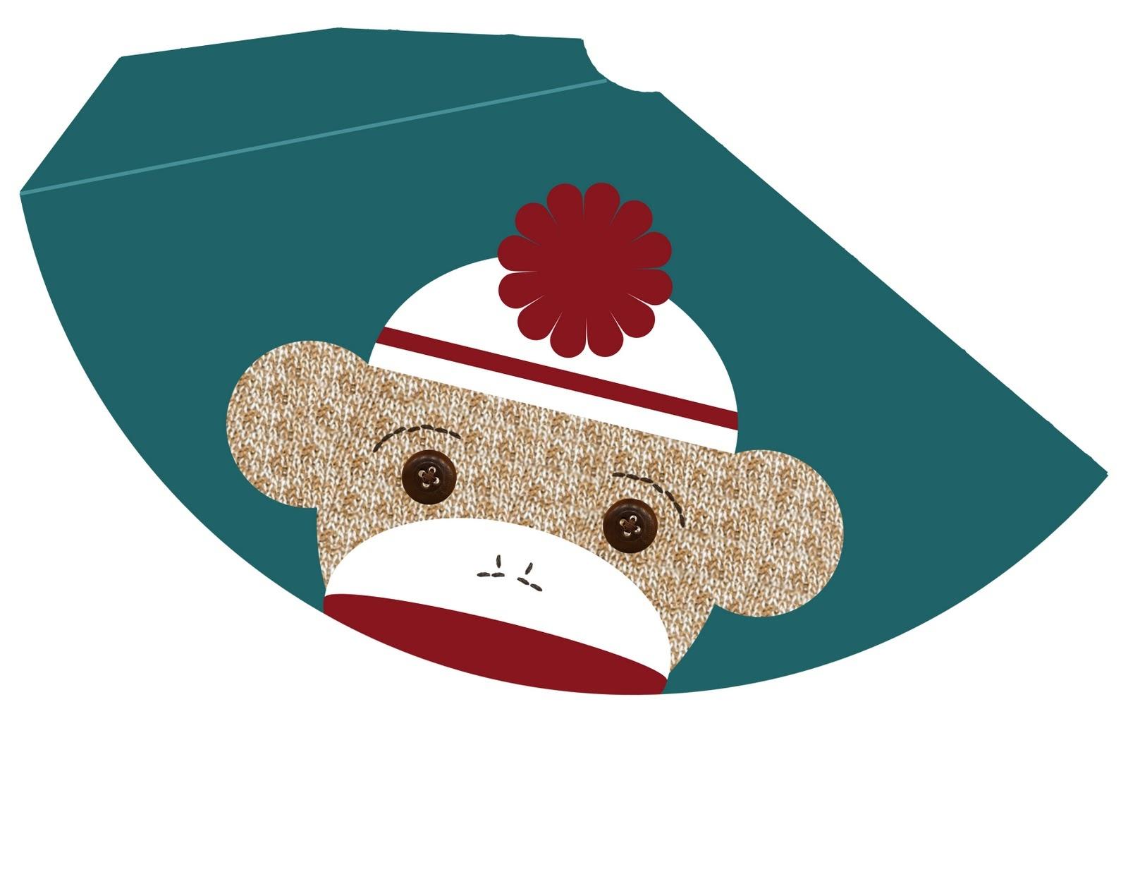 My Messy Manger: Free Sock Monkey Birthday Printables: Hat - Free Printable Sock Monkey Pictures