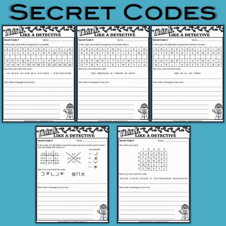 Free Printable Detective Games