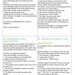Mystery Riddles Game Worksheet   Free Esl Printable Worksheets Made   Free Printable Detective Games