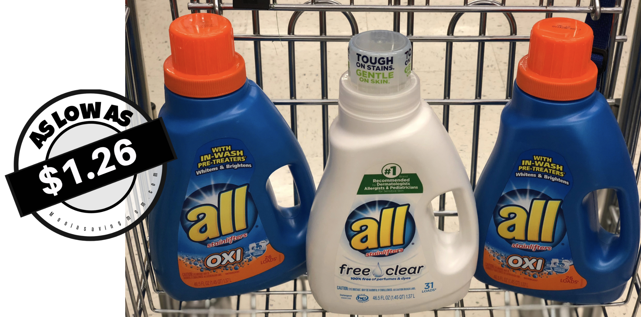 New All Detergent Coupon + Deals - Moola Saving Mom - Free All Detergent Printable Coupons
