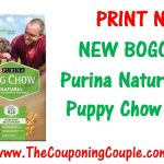 New Bogo Free Purina Natural Printable Coupon ~ Print Now!   Free Printable Nature Made Vitamin Coupons