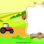 Nice Free Printable Farm Birthday Invitation Template | Free - Free Printable Farm Birthday Invitations
