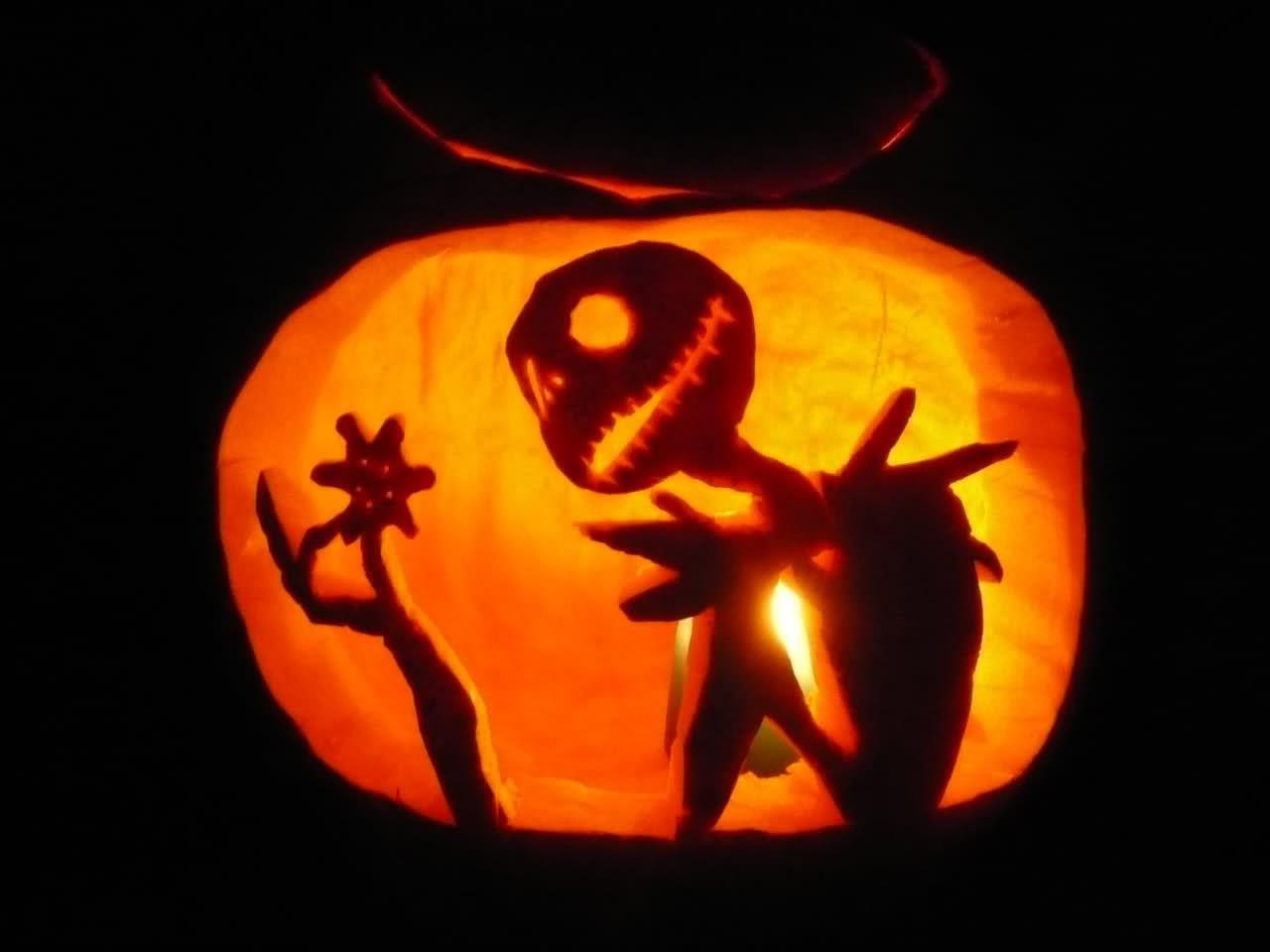 Nightmare Before Christmas Jack And Sally Pumpkin Stencil - Jack Skellington And Sally Pumpkin Stencils Free Printable