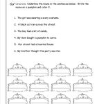 Nouns Worksheets And Printouts   Free Printable Verb Worksheets