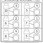 Number Bubble Bonds (Cut And Paste) | Kindergarten Activities   Free Printable Number Bonds Worksheets For Kindergarten