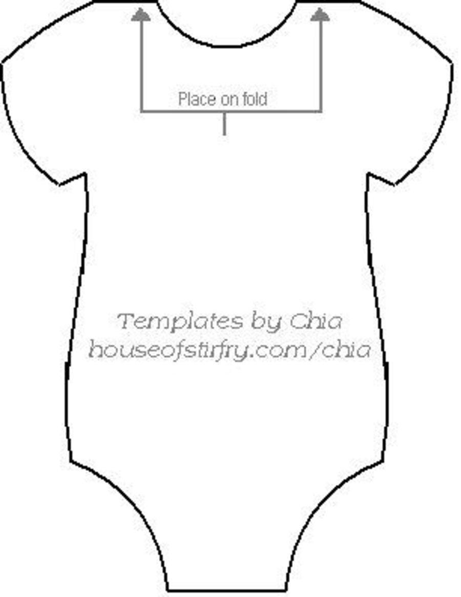 Onesie Pattern On Cake Central | Templete | Baby Onesie Template - Free Printable Onesie Pattern