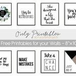 Only Printables   8 Free Printables For Your Walls   Free Printable Artwork For Home
