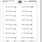 Order Of Operations Worksheet Nested Parentheses! Order Of - Free Printable Math Worksheets 6Th Grade Order Operations