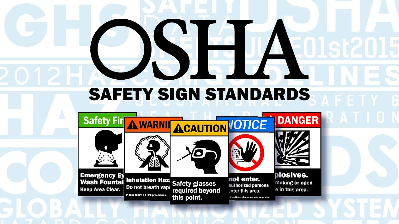 Osha Safety Signs | Graphic Products - Osha Signs Free Printable