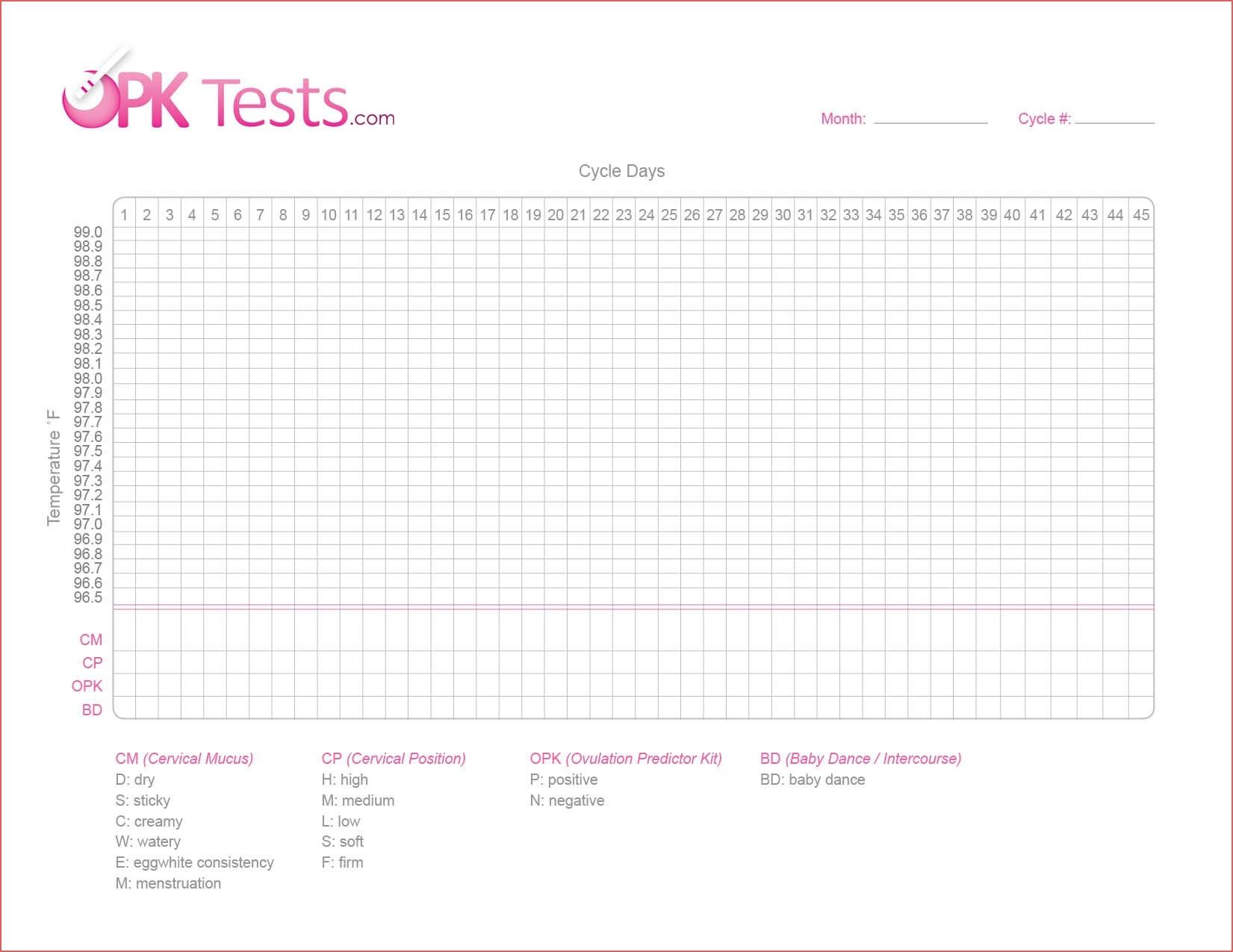 Ovulation Chart Printable Online Calendar Templates Printable - Free Printable Fertility Chart