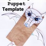 Paper Bag Dragon Puppet | Best Of Create In The Chaos Posts | Dragon   Free Printable Paper Bag Puppet Templates