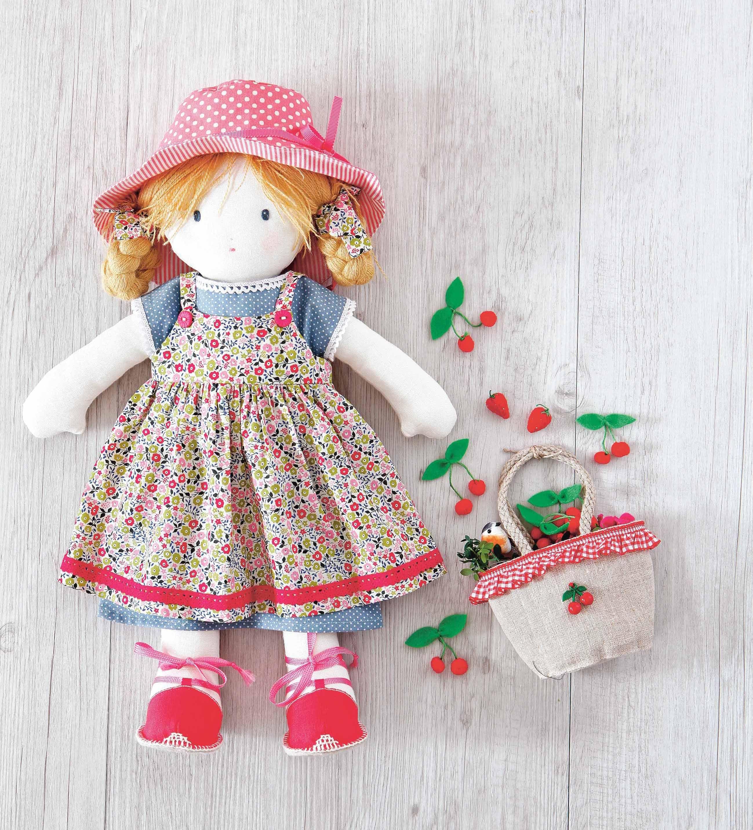 Pattern: Printable Rag Doll Sewing Pattern | Sewing | Doll Sewing - Free Printable Rag Doll Patterns
