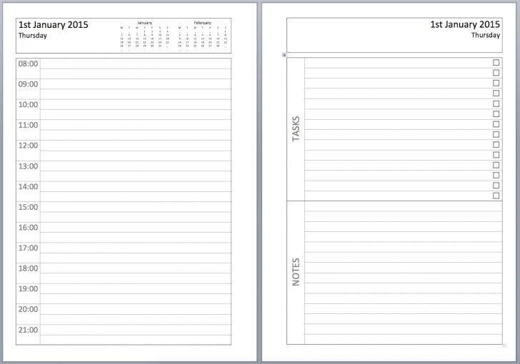 Free Printable Diary Pages