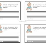 Photo : Baby Shower Card Gift Baby Image   Free Printable Baby Shower Games For Twins