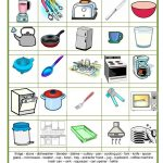 Picture Dictionary   The Kitchen Worksheet   Free Esl Printable   My Spelling Dictionary Printable Free