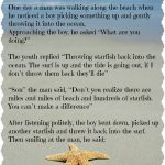 Pinclaire Neary-Wishart On Fav Quotes | Starfish Story, Free - Starfish Story Printable Free