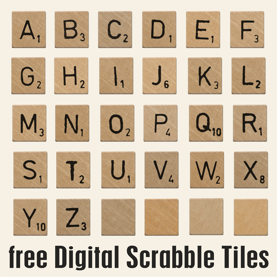 Pindebra Chase On Scrabble | Scrabble Letters Printable - Free Printable Scrabble Tiles