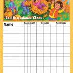Pindonna Albertson On Children's Church | Attendance Chart   Sunday School Attendance Chart Free Printable