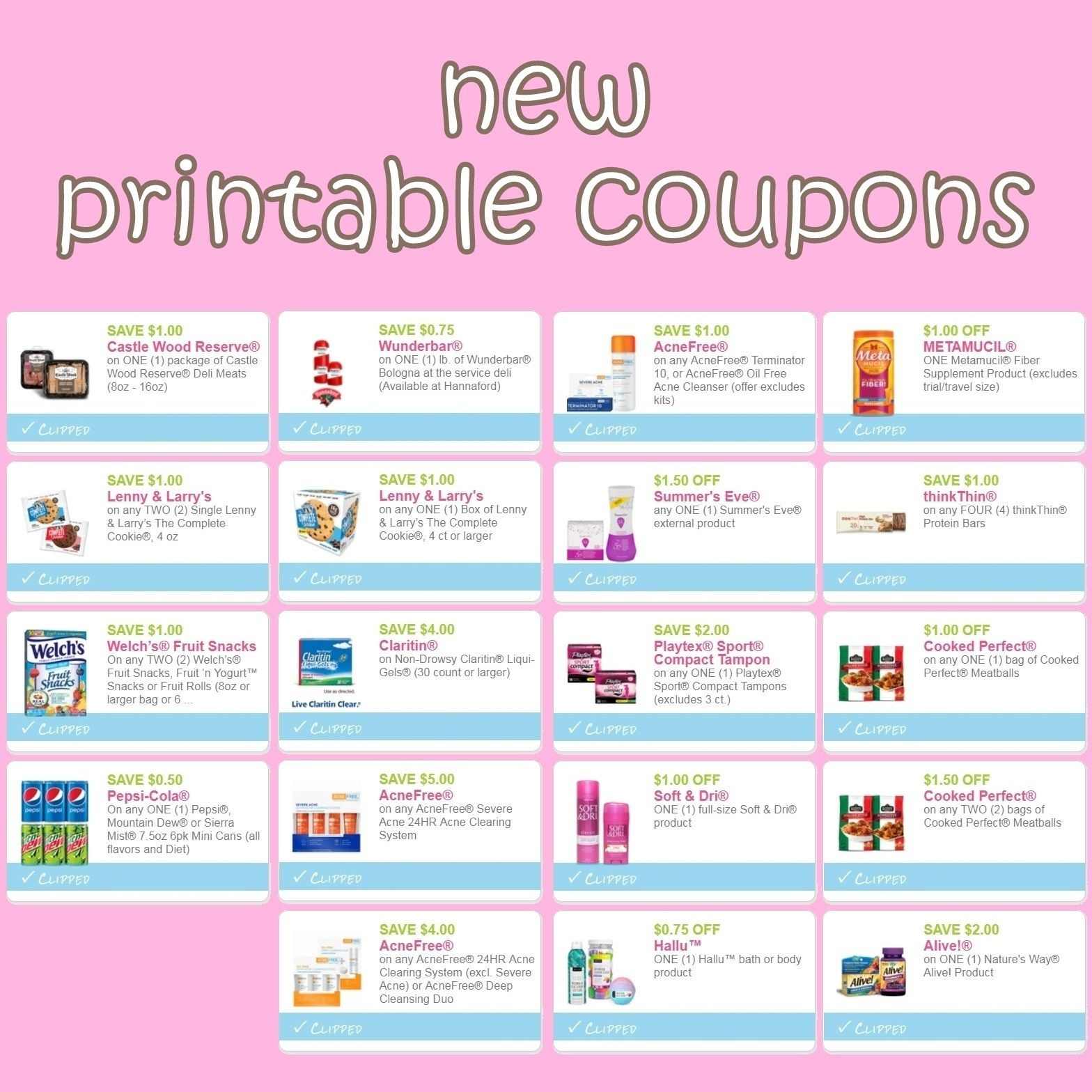 Pinerica Hart On I ♥ Coupons | Printable Coupons, Coupons - Acne Free Coupons Printable