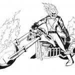 Pinjennifer Moore On Eric   Ghost Rider, Coloring Pages - Free Printable Ghost Rider Coloring Pages