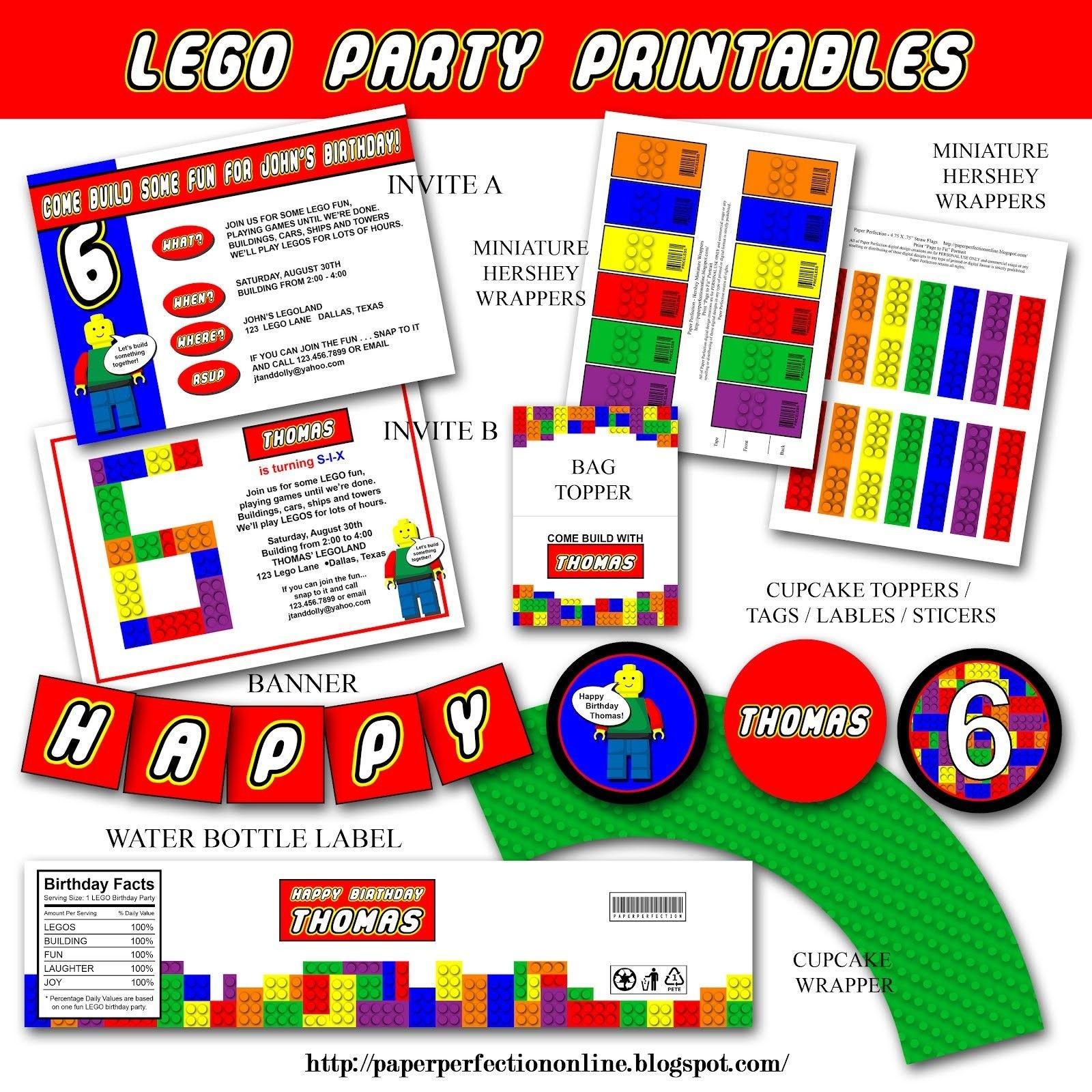 Pinmaria Alvarez On Legos | Lego Party Invitations, Lego - Lego Party Invitations Printable Free