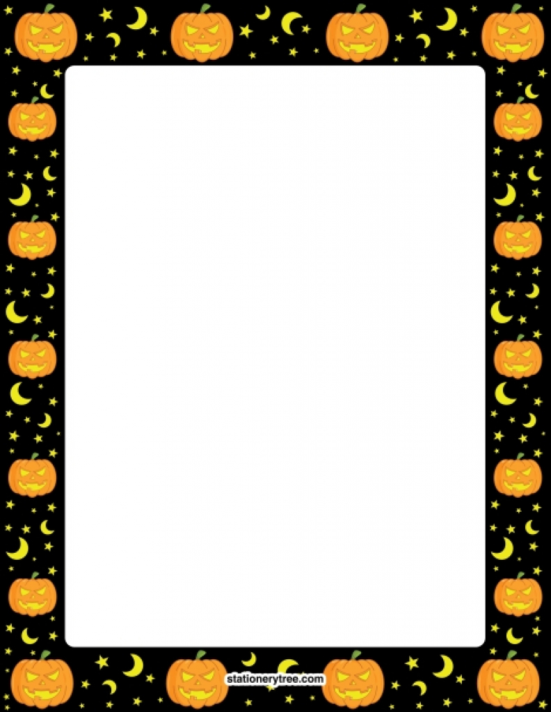 Pinmuse Printables On Stationery At Stationerytree Within Free - Free Printable Halloween Stationery Borders