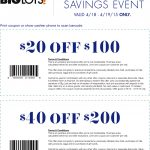 Pinned April 17Th: $20 Off $100 & More At #biglots #coupon Via The   Free Milk Coupons Printable