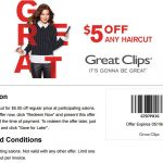Pinned April 27Th: $5 Off A Haircut At #greatclips #coupon Via The   Sports Clips Free Haircut Printable Coupon