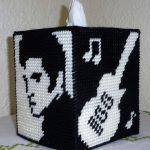 Plastic Canvas Elvis Tissue Box Cover … | Plastic Canvas | Plast…   Free Printable Plastic Canvas Tissue Box Patterns