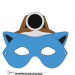 Pokemon Mask Printable   Design Templates   Free Printable Pokemon Masks