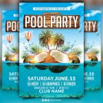 Pool Party Flyer   Kaza.psstech.co   Pool Party Flyers Free Printable