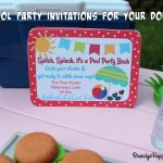 Pool Party Invitations For American Girl Dolls   American Girl Party Invitations Free Printable