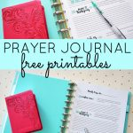 Prayer Journal Free Printables | Top Pins From Top Bloggers | Bible   Free Printable Prayer Journal