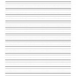 Print Sheets Two Lines | First Grade Writing Paper Printable - Elementary Lined Paper Printable Free