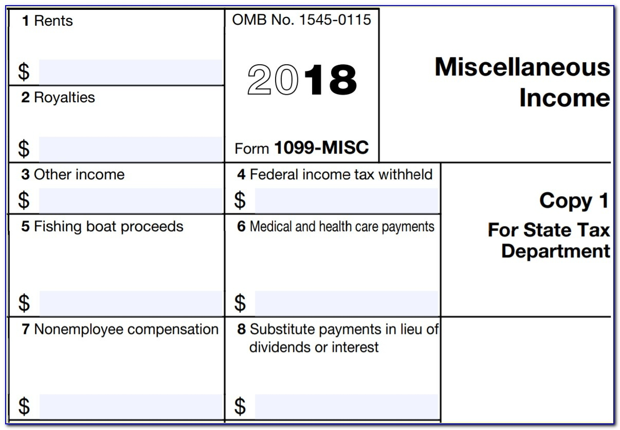 Printable 1099 Misc Form 2015 - Form : Resume Examples #ngloodzlbw - Free Printable 1099 Misc Forms